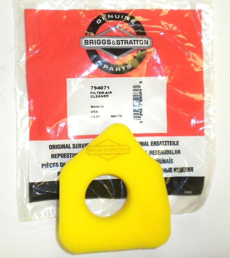 Brute Lawn Mower Air Filter : Original briggs stratton air filter