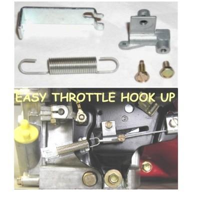 Mini bike throttle hook up