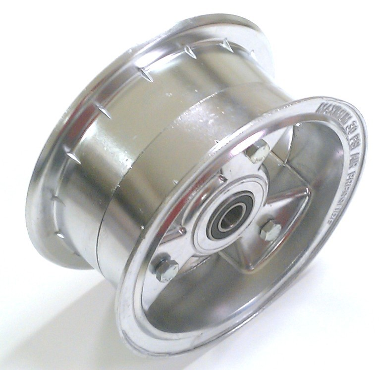 6663 Go Kart Rolling 6 Quot Wheel 3 Quot Wide Assy For 5 8 Axle