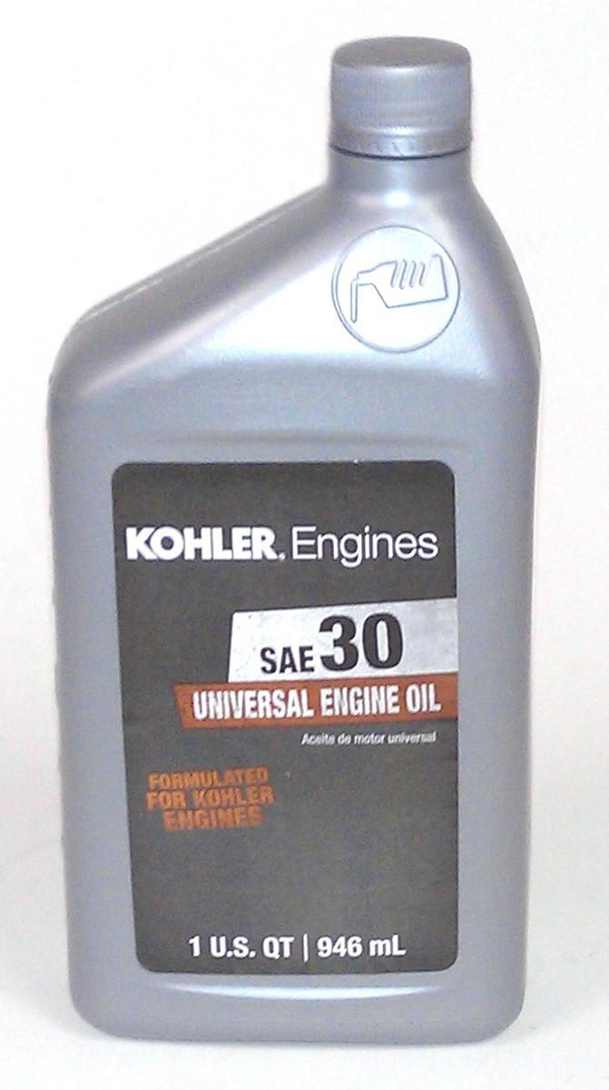 25 357 03 Kohler SAE 30 1 Qt. Universal Engine Oil 25-357-03