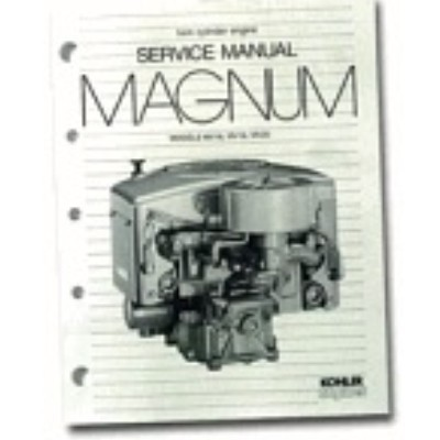 kohler magnum 16 parts manual