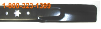 "942-04308 21.23"" Genuine MTD Lawn Mower Blade Replaces 742-04308"