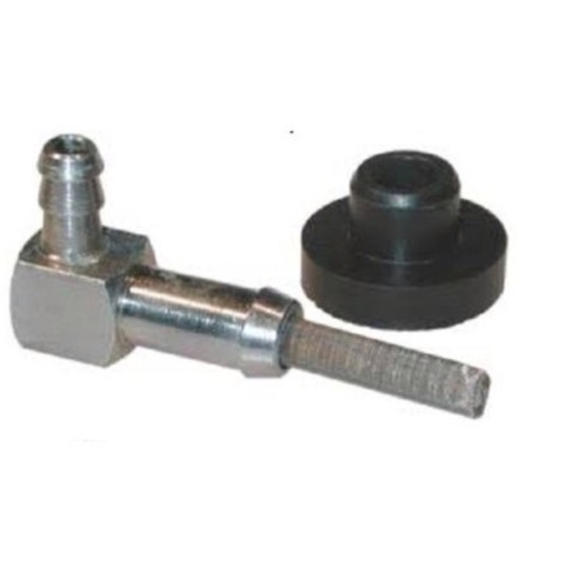 Tecumseh fuel elbow valve with tank bushing