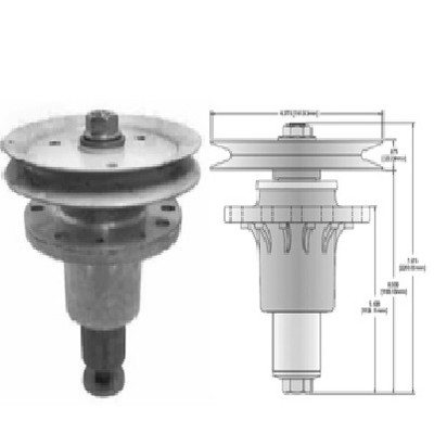 13130 SPINDLE ASSEMBLY Replaces EXMARK 103-1140