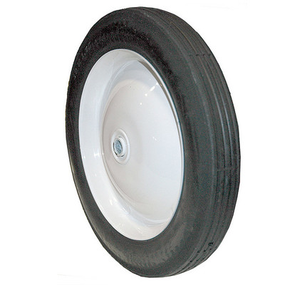 285 WHEEL STEEL 10 X 1.75 (PAINTED WHITE) Replaces SUNBELT B1SB285