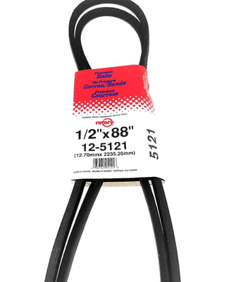 "Free Shipping! 5121/4L880 Belt (1/2""X88"") Compatible With Craftsman 131290, 144200"