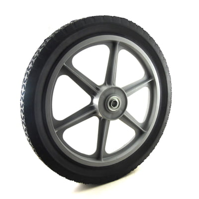 9078 WHEEL PLASTIC 14 X 1.75 UNIVERSAL (GRAY) Replaces SUNBELT B130047