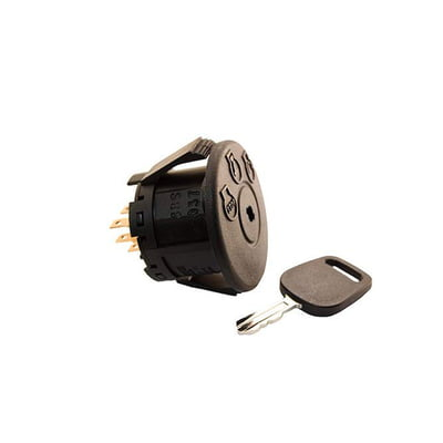 Free Shipping! 9655 Ignition Switch & Key Compatible With John Deere AM13359, MTD 925-04228, Husqvarna 583070001 & More..