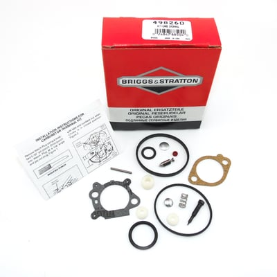 498260 Briggs & Stratton Carburetor Kit