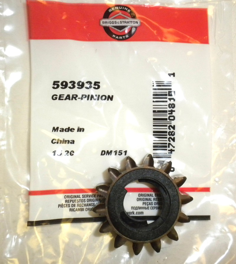593935 Original Briggs Amp Stratton Starter Pinion Gear