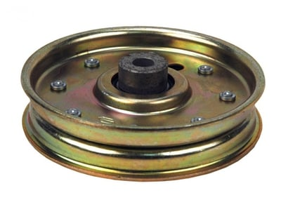 12276 Flat Idler Pulley Replaces Cub Cadet 01004081, 02005077