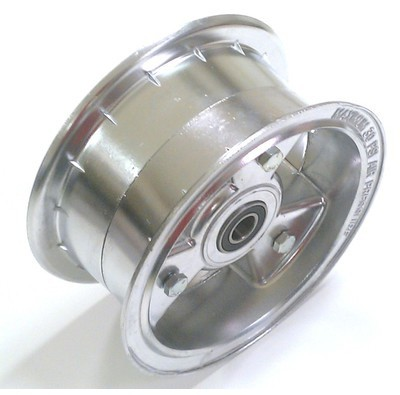 "6663 Go Kart Rolling 6"" Wheel 3"" Wide Assy for 5/8 Axle"