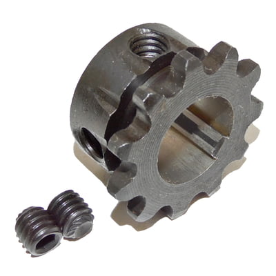 "2138-K Azusa 10 Tooth, #35 pitch, 3/4"" Bore Go Kart Jackshaft Sprocket"