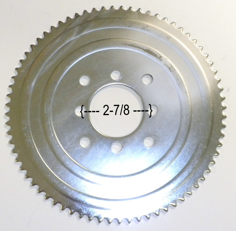#35 72T Go Kart Sprocket