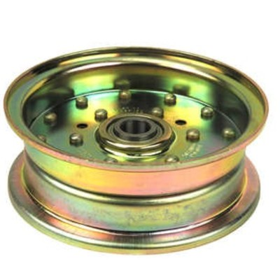 Free Shipping! 12474 Flat Idler Pulley Replaces Husqvarna 539103258