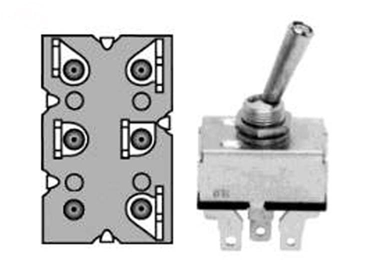 Husqvarna Lawn Mower Parts >> 7675 Lawn Mower Toggle Switch Replaces John Deere AM-39489
