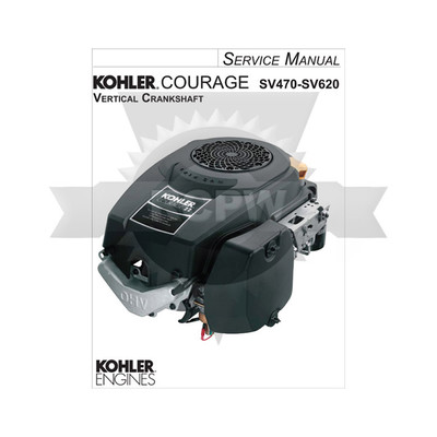 Kohler Couage SV470-SV620 Service Manual Replaces TP-2548-A