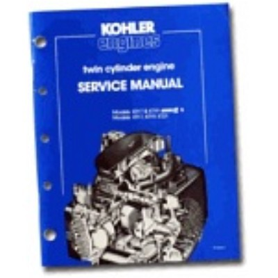 Kohler Engine Service Manual KT17 to KT21
