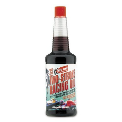 40603-1 40603 RED LINE TWO STROKE RACING OIL 16 oz Bottle For DA & 3W Engines (Free Shipping Case of 12)