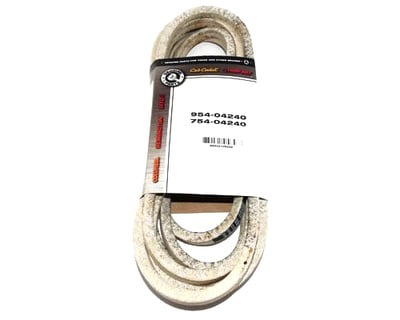 OEM 954-04240 MTD Belt Compatible With 754-04240