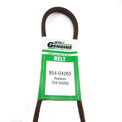 954-04265 Belt Replaces MTD-Murray 754-04265