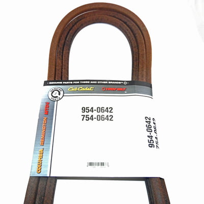 Free Shipping! 954-0642 OEM MTD Belt Compatible With 754-0642