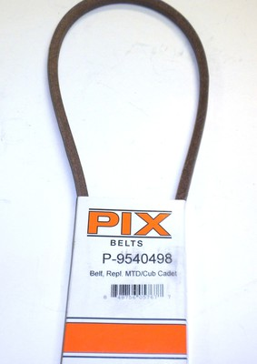 PIX754-0498 Belt Replaces 754-0498 MTD Belt