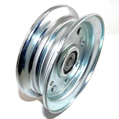 Free Shipping! 3236 Flat Idler Pulley Replaces Murray 90118