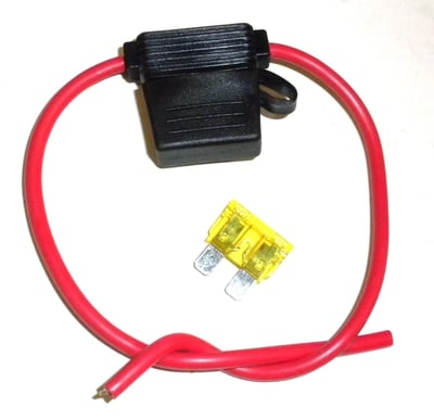 33-038 Lawn Mower Fuse Holder With 20amp Fuse