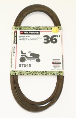 Original Murray Lawn Mower Belt 37x45 Replaces Original Murray Belt 37x35