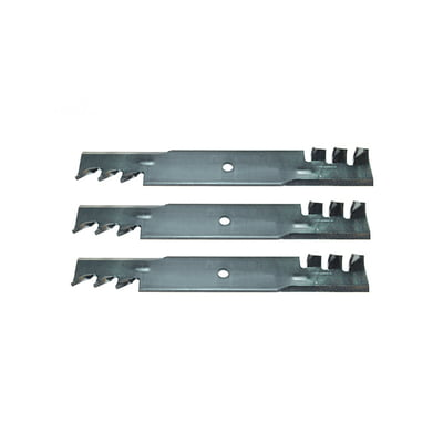 3 Pk 15005 Heavy Duty Copperhead Mulching Blades Compatible with John Deere AM104489, Bad BOY 038-5000-00 & SCAG 482461