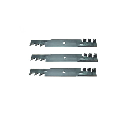 Free Shipping! 3Pk Heavy Duty Copperhead Mulching Blades Compatible with SCAG 481707